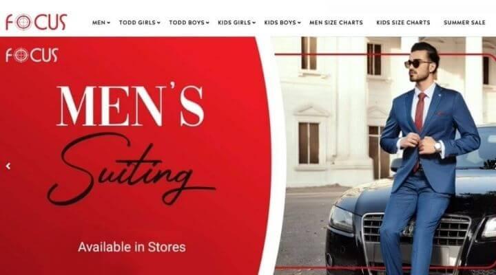 Focus Clothing Brand