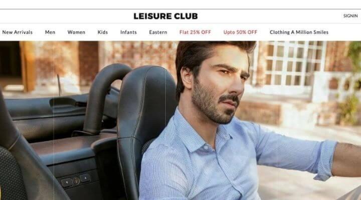 Leisure Club Clothing Brand